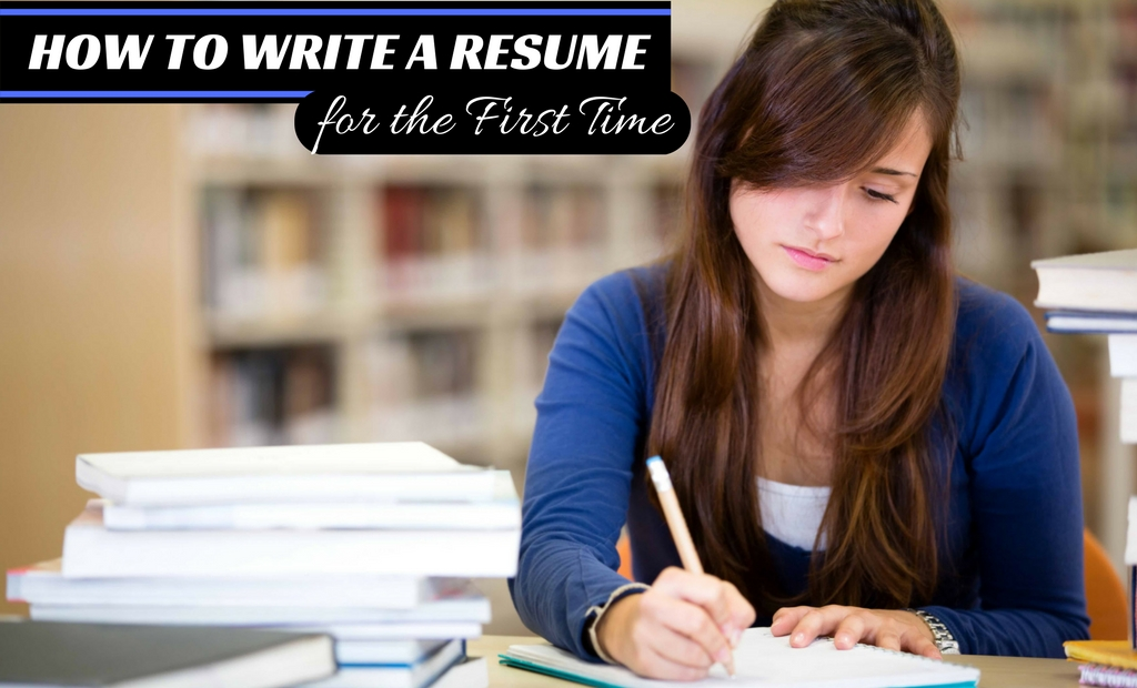 how to write a resume for the first time wisestep