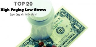 High Paying Low Stress Jobs