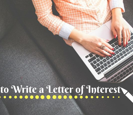 How to Write Letter of Interest