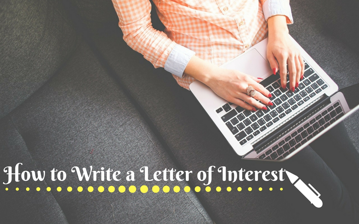 How To Write A Letter Of Interest Sample Examples  Format  Wisestep
