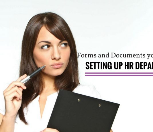 Human Resources Forms Documents