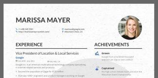 Marissa Mayer CV