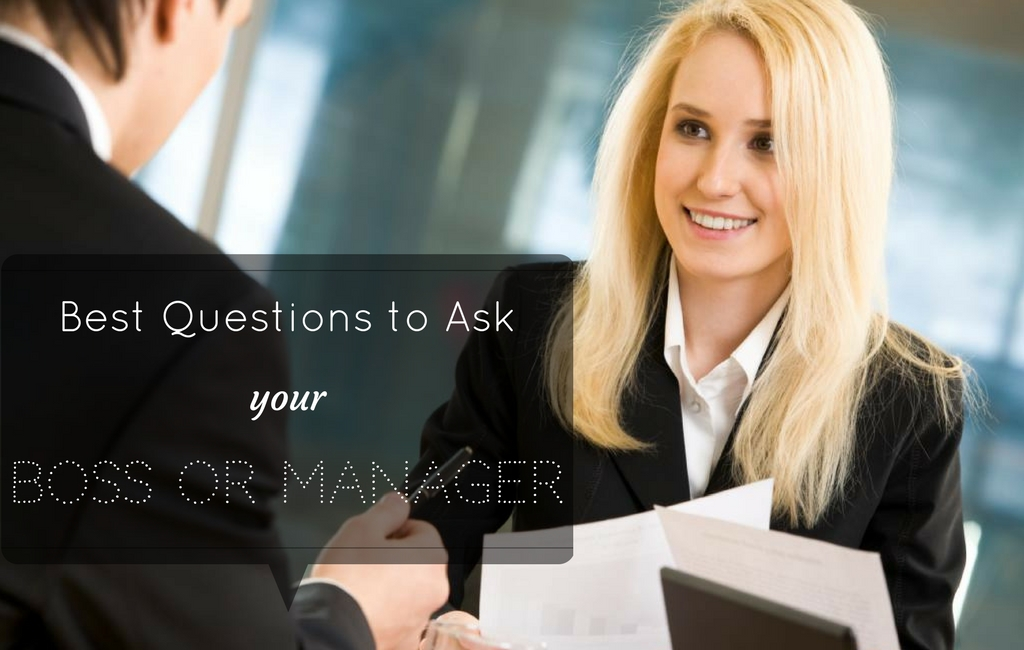Questions to Ask Manager