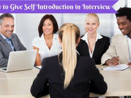 Self Introduction in Interview