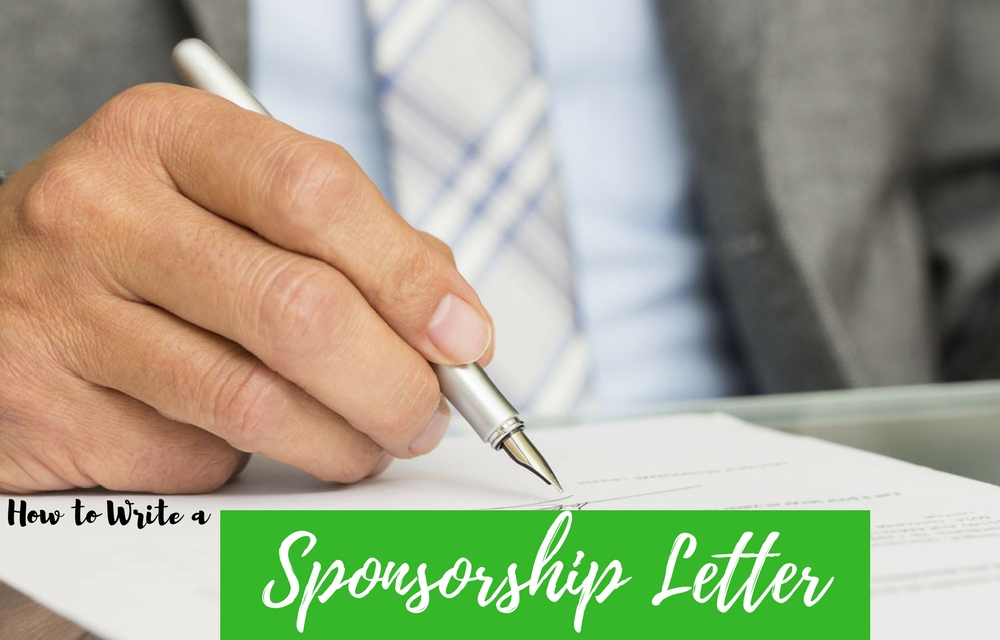 how to write a sponsorship letter how to write a sponsorship letter with free sample 1319