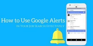 Google Job Alerts
