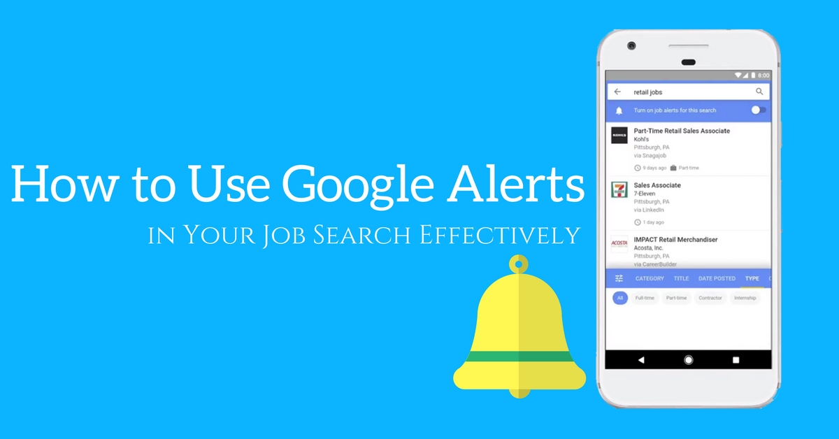 How to Use Google Alerts in Your Job Search Effectively? - WiseStep