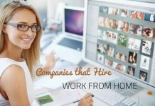 Companies that Hire Work from Home
