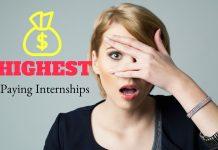 Highest Paying Internships