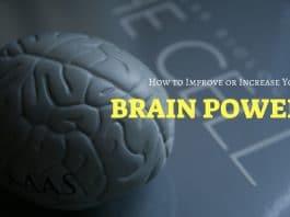 Improve Increase Brain Power