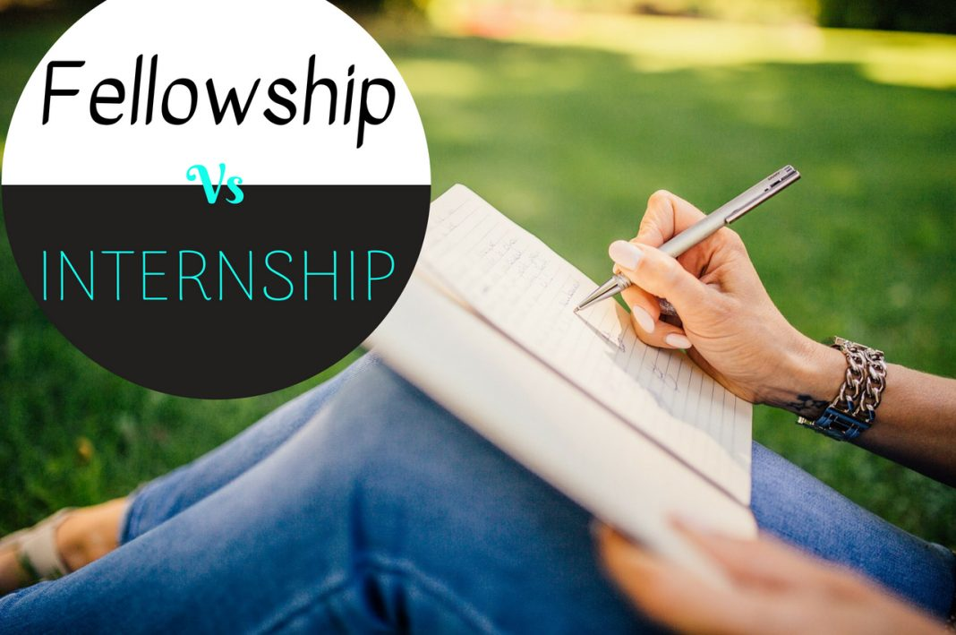 Internship Vs Fellowship