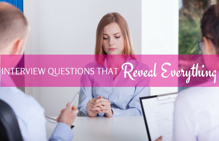 Revealing Interview Questions