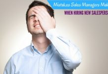 Sales Manager Mistakes