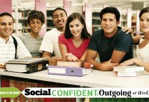 Social Confident Outgoing at Work