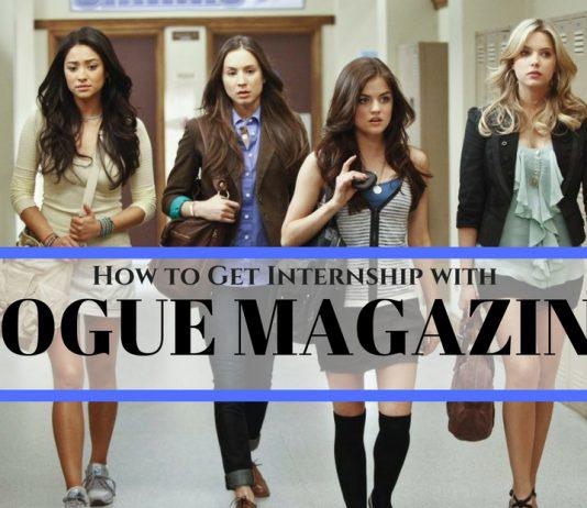 Vogue Internship