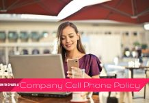 Company Cell Phone Policy