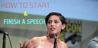Start and Finish Speech