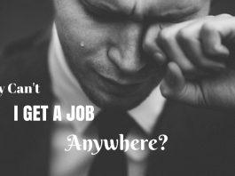 i can't get a job